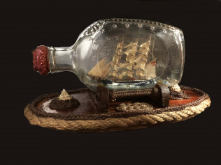 Folk Art in a Bottle